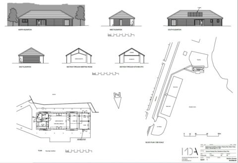 Revised Pavilion sketches from 29 October 2020