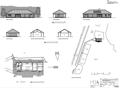 Revised internal layout of Pavilion 09122020