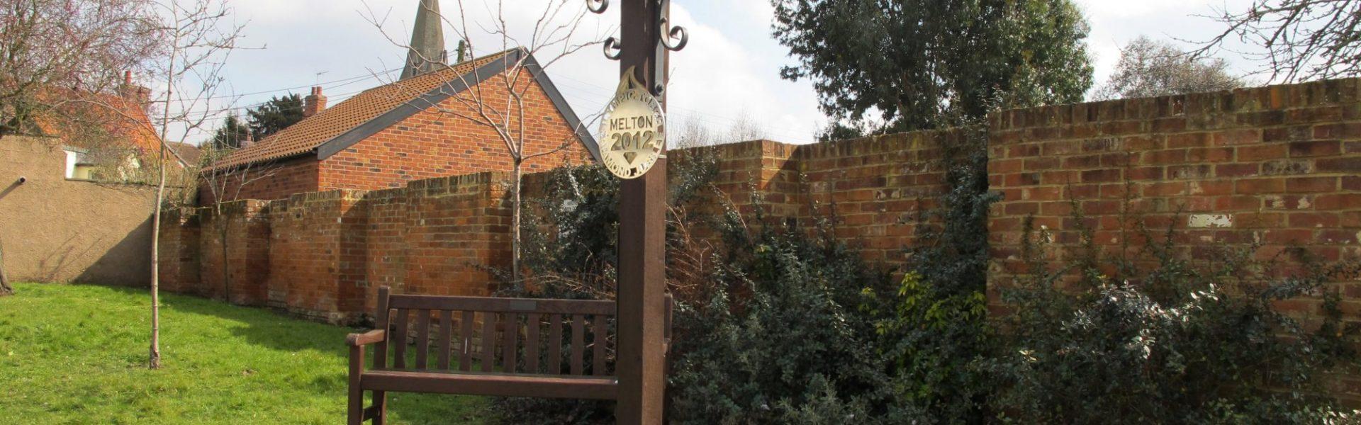 The Melton village sign