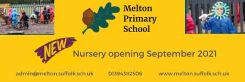Melton Primary School Nursery banner